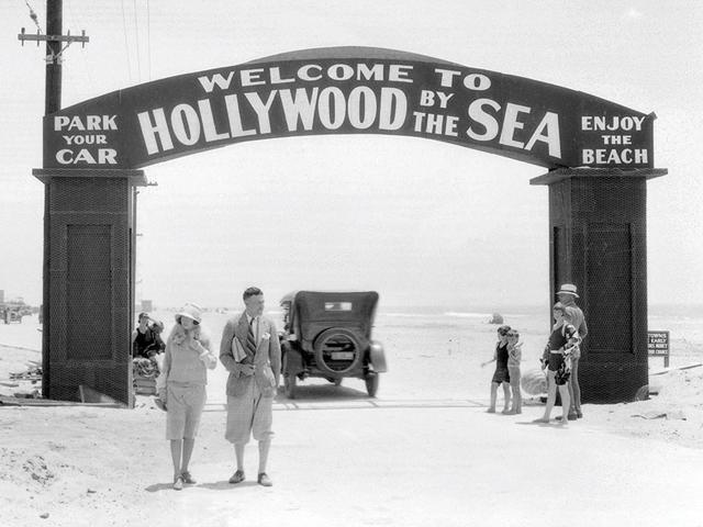 old hollywood beach